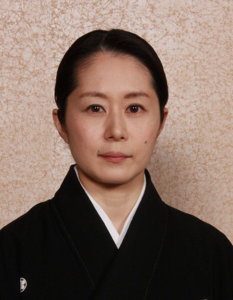 大島衣恵(能楽師) Oshima Kinue(Noh Acter)