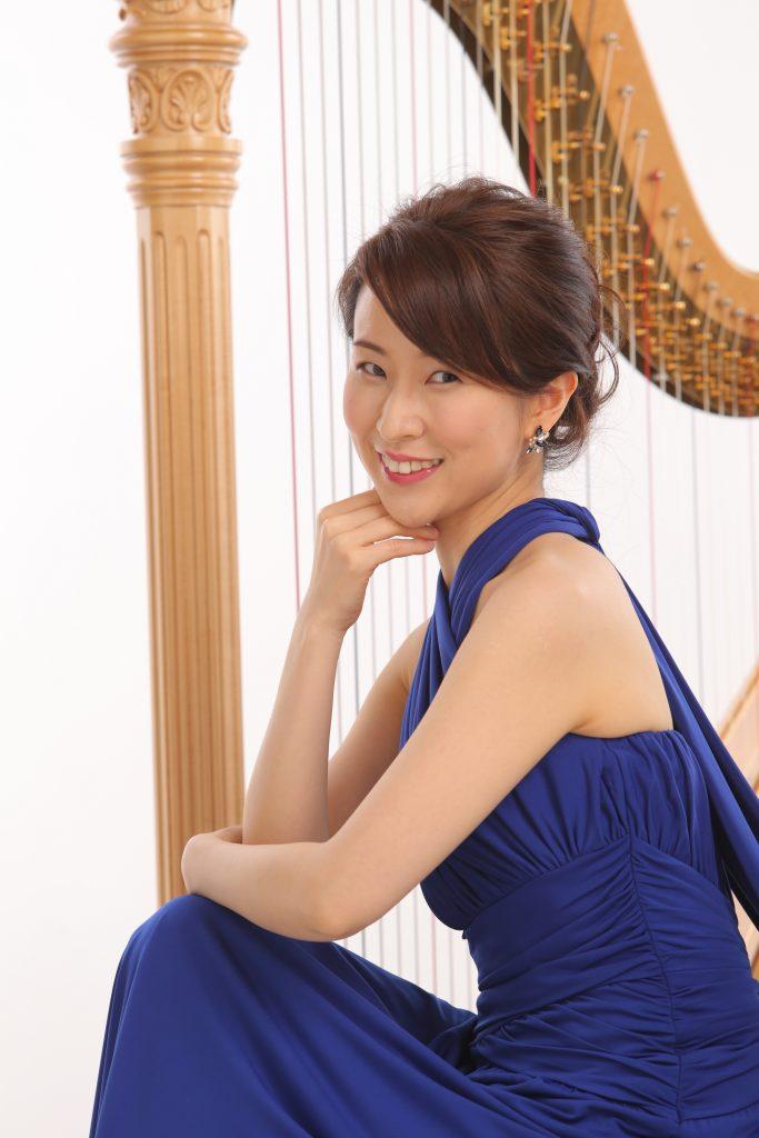 福井麻衣(ハープ) Fukui Mai (Harp)